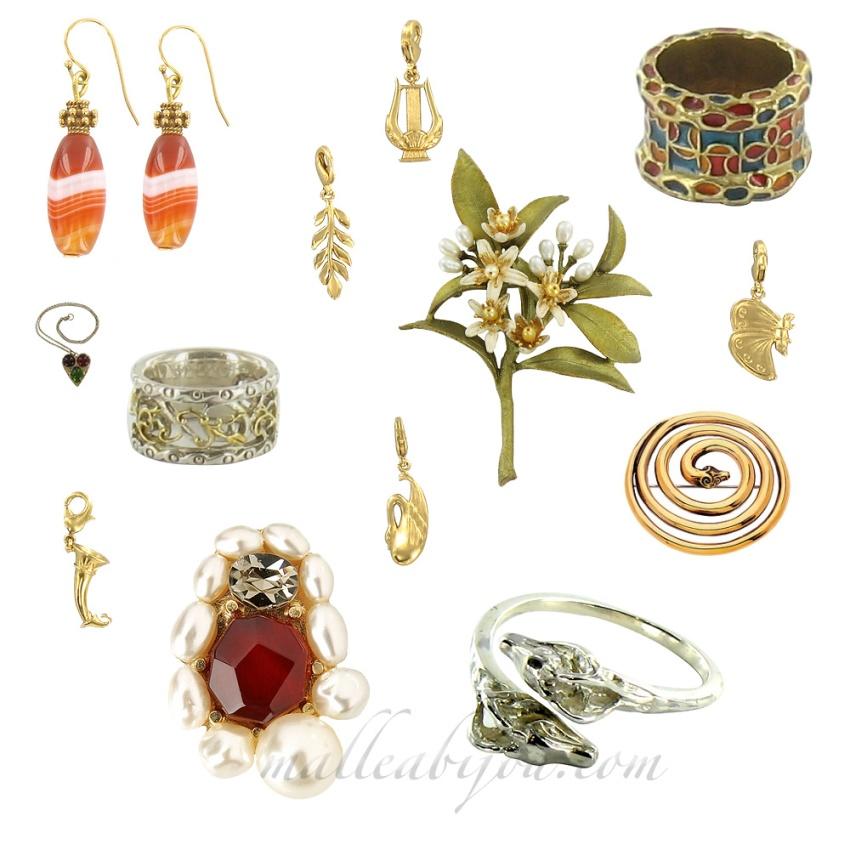 Les bijoux des boutiques des musées